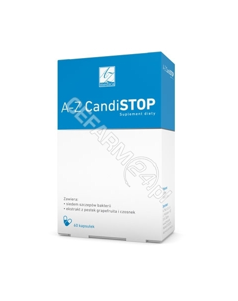 A-Z MEDICA A-Z CandiSTOP x 60 kaps