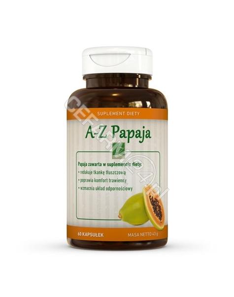 A-Z MEDICA A-Z Papaja x 60 kaps