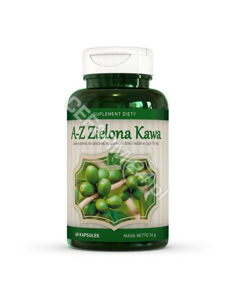 A-Z MEDICA A-Z Zielona Kawa 600 mg x 60 kaps