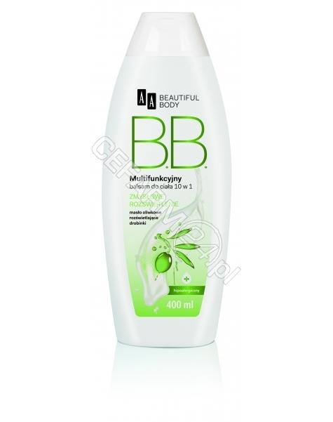 OCEANIC AA Beautiful Body - balsam do ciała Zmysłowe Rozświetlenie z masłem oliwkowym i rozświetlającymi drobinkami 400 ml