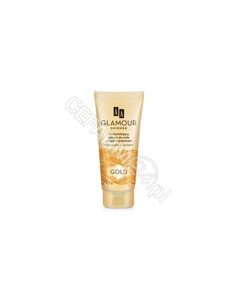 OCEANIC AA Glamour rozświetlający balsam do ciała ze złotymi drobinkami GOLD 200 ml