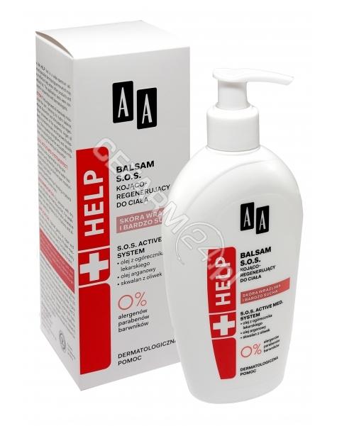 OCEANIC AA Help balsam SOS kojąco - regenerujący do ciała do skóry wrażliwej i suchej 300 ml