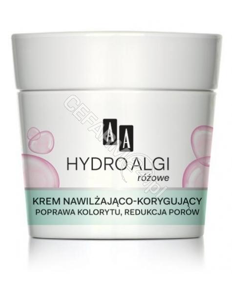 OCEANIC AA Hydro Algi Różowe krem nawilżająco - korygujący do skóry mieszanej i normalnej 50 ml