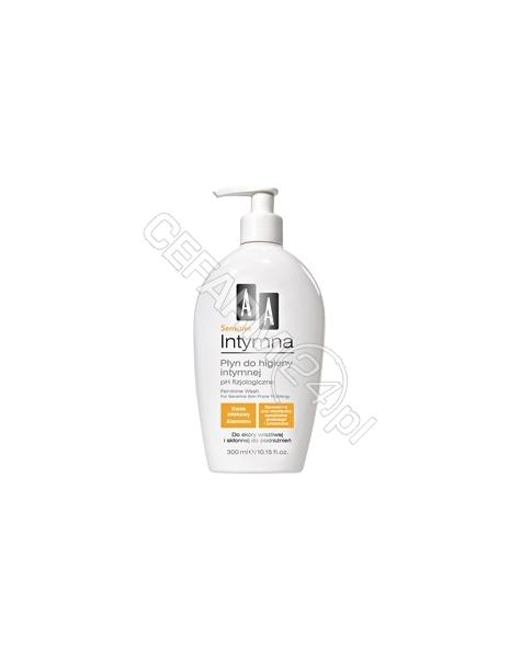 OCEANIC AA Intymna - płyn do higieny intymnej sensitive z dozownikiem 300 ml