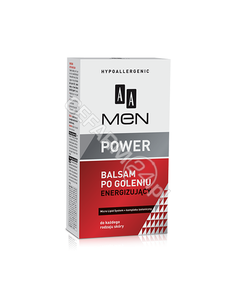 OCEANIC AA Men Power balsam po goleniu energizujący 100 ml