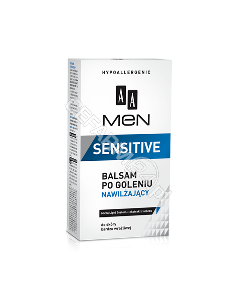 OCEANIC AA Men Sensitive balsam po goleniu nawilżający 100 ml