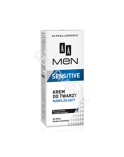 OCEANIC AA Men Sensitive krem do twarzy nawilżający 50 ml