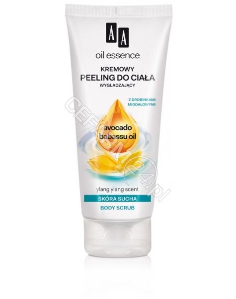 OCEANIC Aa Oil Essence kremowy wygładzający peeling do ciała do skóry suchej Avocado & Babassu oil 200 ml