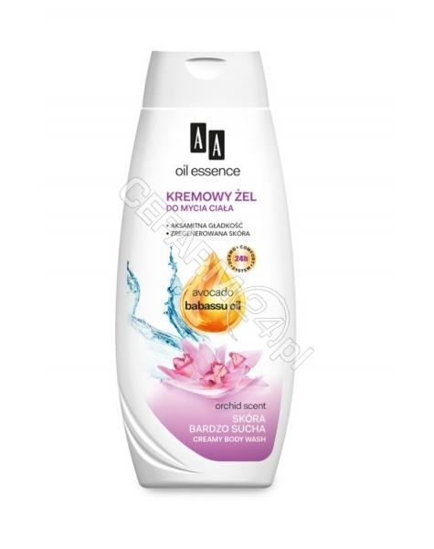 OCEANIC Aa Oil Essence kremowy żel do mycia ciała do skóry bardzo suchej Avocado & Babassu oil 250 ml