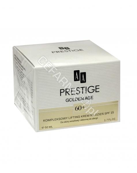 OCEANIC AA Prestige Golden Age 60+ krem na dzień kompleksowy lifting spf 15 50 ml