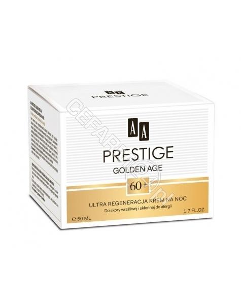 OCEANIC AA Prestige Golden Age 60+ krem na noc ultra regeneracja 50 ml