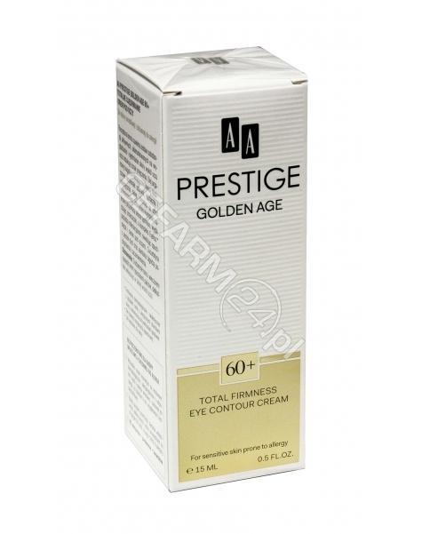 OCEANIC AA Prestige Golden Age 60+ krem pod oczy totalne ujędrnianie 15 ml