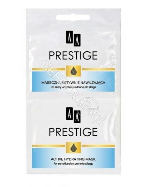 OCEANIC AA Prestige maseczka aktywne nawilżająca 10 ml (data ważności <span class=