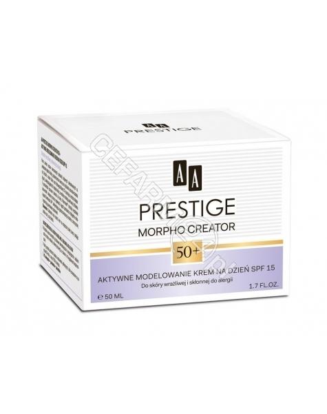 OCEANIC AA Prestige Morpho Creator 50+ krem na dzień aktywne modelowanie 50 ml