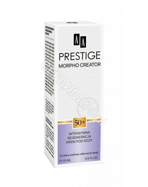 OCEANIC AA Prestige Morpho Creator 50+ krem pod oczy intensywna regeneracja 15 ml