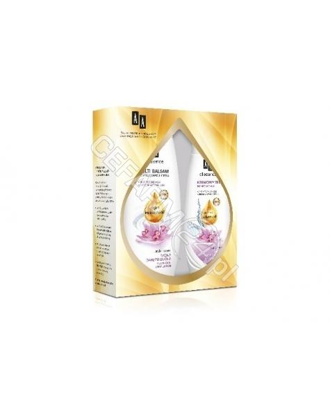 OCEANIC AA promocyjny zestaw Oil Essence - multi balsam do ciała do skóry bardzo suchej 400 ml + kremowy żel do mycia ciała 250 ml GRATIS!!!
