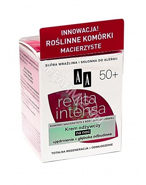 OCEANIC AA Revita Intensa 50+ krem odżywczy na noc 50 ml