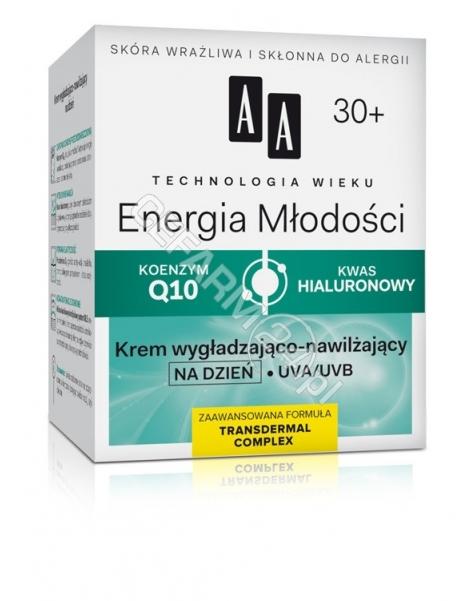 OCEANIC AA Technologia Wieku Energia Młodości 30+ krem wygładzająco - nawilżający na dzień 50 ml
