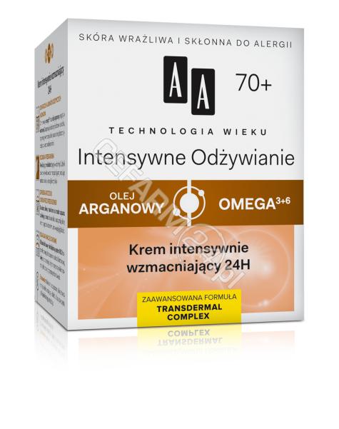 OCEANIC AA Technologia Wieku Intensywne Odżywienie 70+ krem intensywnie wzmacniający 24h 50 ml