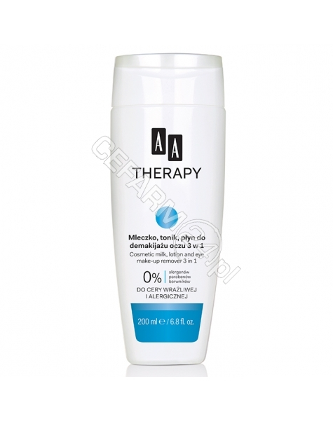 OCEANIC AA Therapy mleczko, tonik, płyn do demakijażu oczu 3w1 250 ml
