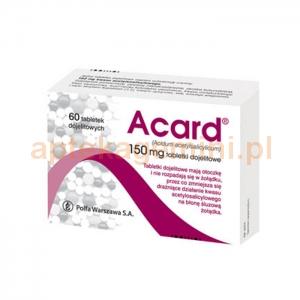 POLFA WARSZAWA Acard 150mg, 60 tabletek