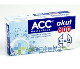 HEXAL POLSKA SP. Z O.O. ACC 600 tabletki musujace 600mg 20 sztuk