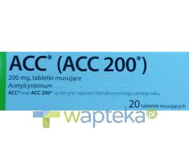 DELFARMA SP. Z O.O. ACC MAX 0,2 g 20 tabletek musujących