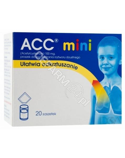 SANDOZ Acc mini 100 mg x 20 sasz