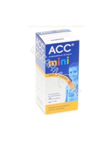 SANDOZ Acc mini 20 mg/ml roztwór doustny 100 ml