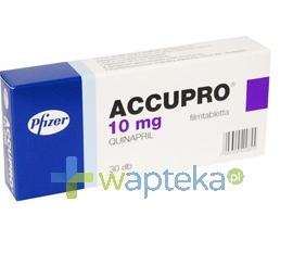GODECKE AG Accupro 10 tabletki powlekane 10mg 30 sztuk