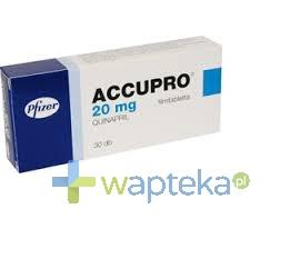 GODECKE AG Accupro 20 tabletki powlekane 20mg 30 sztuk