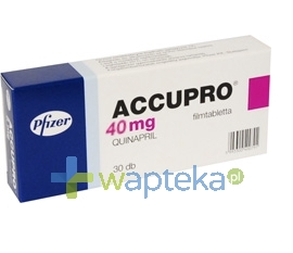GODECKE AG Accupro 40 tabletki powlekane 40mg 30 sztuk