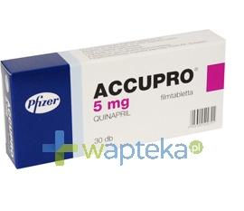 GODECKE AG Accupro 5 tabletki powlekane 5mg 30 sztuk