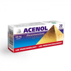 GALENA Acenol 300mg, 20 tabletek