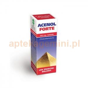 GALENA Acenol Forte 500mg, 20 tabletek OKAZJA