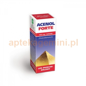 GALENA Acenol Forte 500mg, 20 tabletek
