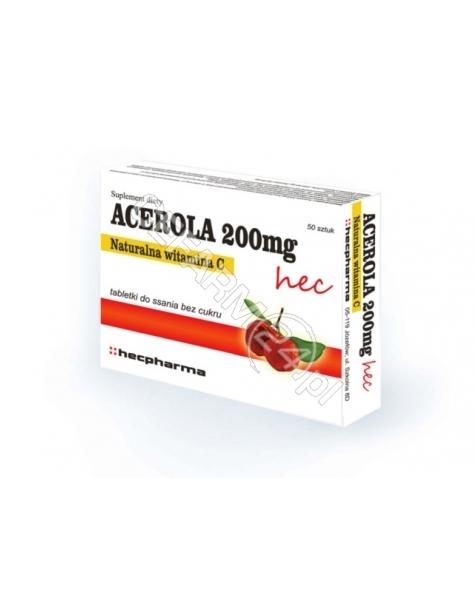 HECPHARMA Acerola 200 mg HEC x 50 tabl