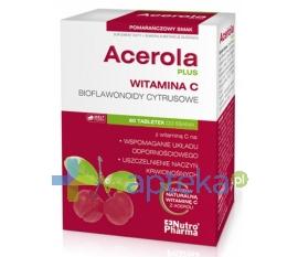 HOLBEX SP. Z O.O. Acerola Plus 60 tabletki do ssania HOLBEX