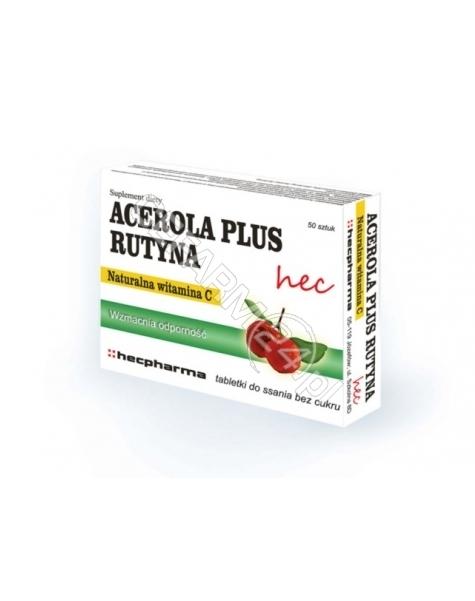 HECPHARMA Acerola plus rutyna HEC x 50 tabl