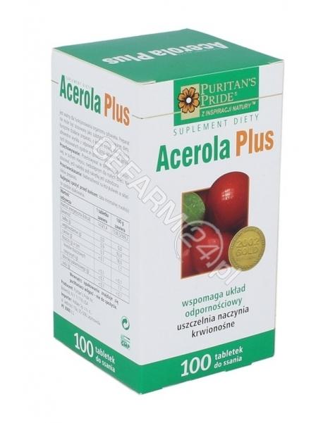 PURITAN'S PR Acerola plus x 100 tabl do ssania