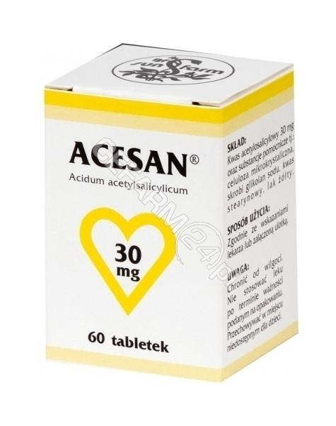 SUN-FARM Acesan 30 mg x 60 tabl