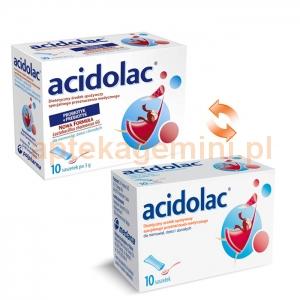 POLPHARMA Acidolac 3g, po 1 miesiącu, 10 saszetek