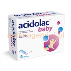 POLPHARMA Acidolac Baby 1,5g, dla dzieci po 1 miesiącu życia, 10 saszetek