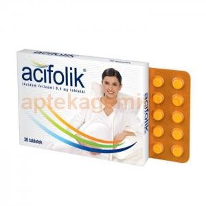 HASCO-LEK Acifolik 0,4mg, 30 tabletek