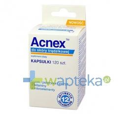 FARMINA SP. Z O.O. ACNEX do skóry trądzikowej 120 kapsułek