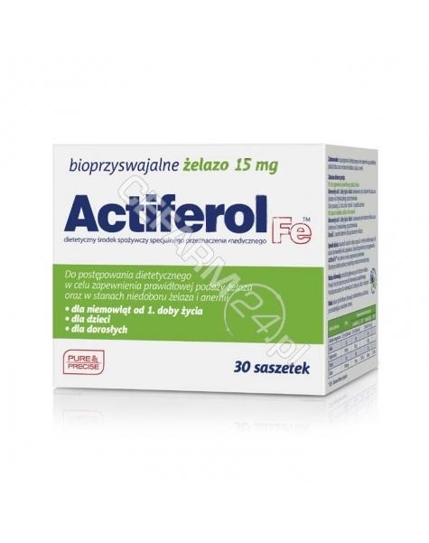 SEQUOIA Actiferol fe 15 mg x 30 sasz