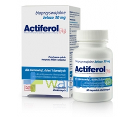 SEQUOIA SP. Z O.O. Actiferol Fe 30 mg 30 kapsułki