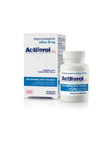 SEQUOIA Actiferol fe 30 mg x 30 kaps