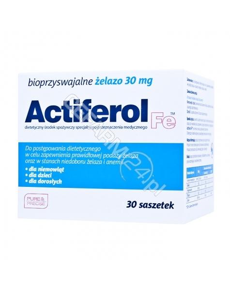 SEQUOIA Actiferol fe 30 mg x 30 sasz