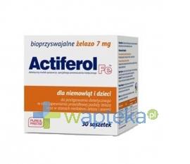 SEQUOIA SP. Z O.O. Actiferol Fe 7 mg 30 saszetek